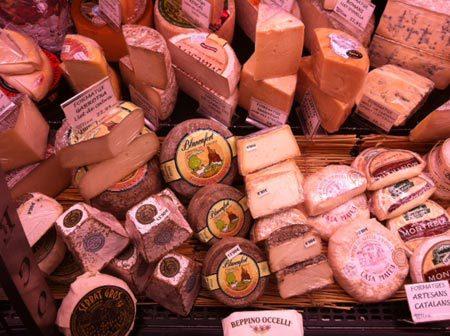 tienda de quesos en Barcelona